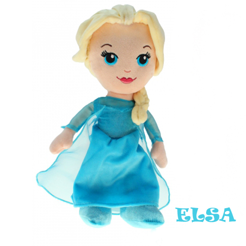disney frozen pl schfigur anna elsa olaf die eisk nigin 30 cm pl schtier ovp ebay. Black Bedroom Furniture Sets. Home Design Ideas